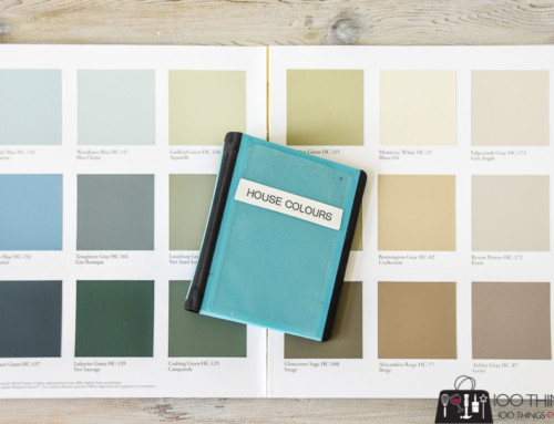 How to keep track of paint colors