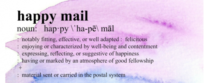 """The """"Happy Mail"""" movement"""