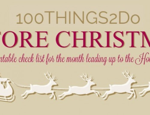 100 Things 2 Do Before Christmas