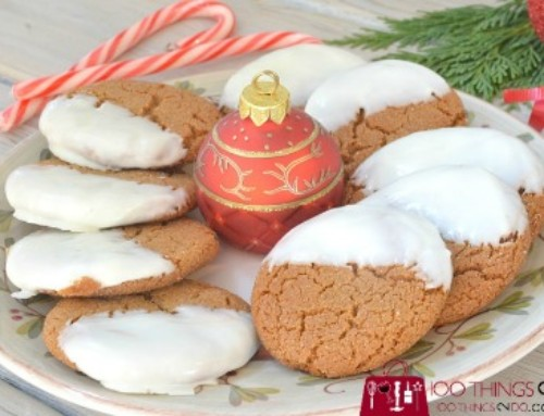 Chocolate-Dipped Gingersnaps