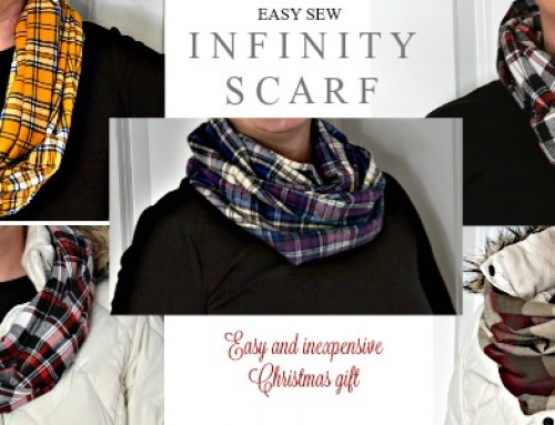 Simple sewing – Infinity Scarf