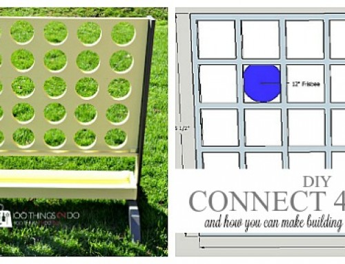 Don't DIY Connect 4 Game