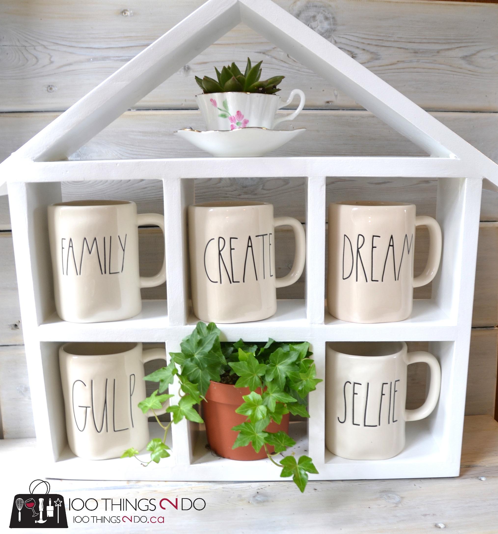 Diy Coffee Mug Shelf 100 Things 2 Do