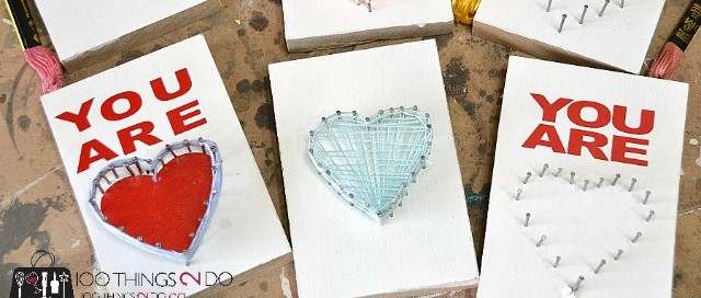 Mother's Day String Art