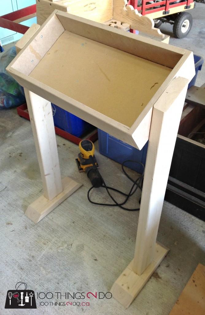 DIY Snack Station / DIY Produce Stand / DIY Display Stand