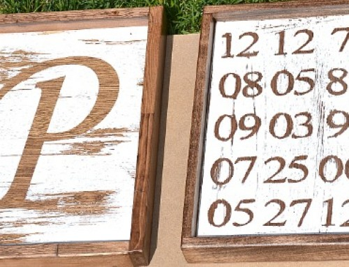 Make Your Own Farmhouse-Style Signs