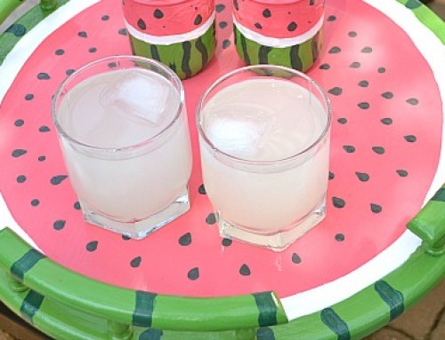 Watermelon Serving Tray / Watermelon Lazy-Susan