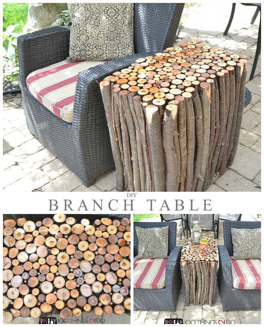 Diy Branch Table 100 Things 2 Do