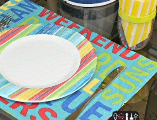 DIY No-Sew Placemats