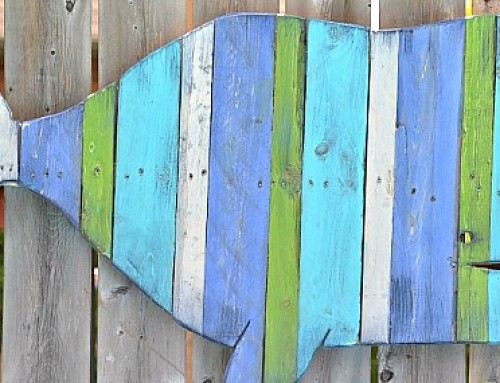 Pallet Projects – Fence/Wall Art Whale