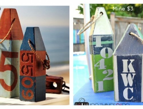 Pottery Barn Inspired Buoys