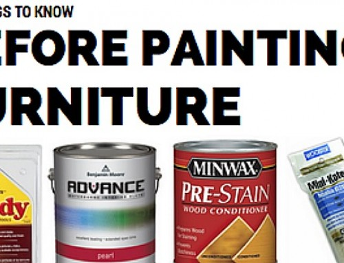 15 Things to Know Before Painting Furniture