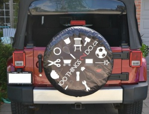 Tire Cover Advertising