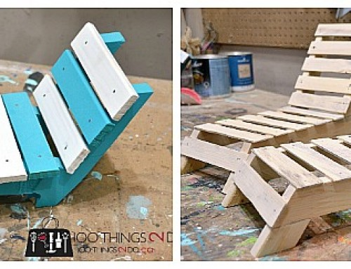 DIY Doll Furniture – Patio Lounger