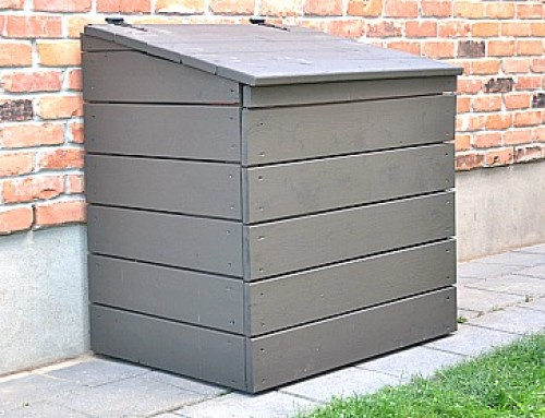 DIY Outdoor Garbage Bin