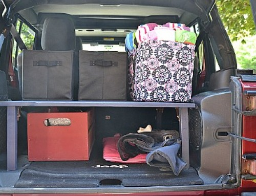 Trunk Organizer – Double your storage space!