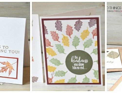 Fall Cards – clean and simple