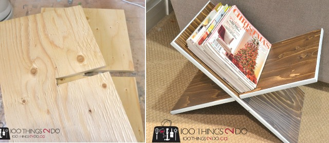 super easy diy magazine rack 100 things 2 do