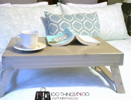 Great Gift Idea – DIY Folding Lap Desk / Breakfast Tray