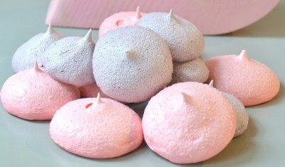 Easy meringue poppers, Jello meringue, flavoured meringue cookies, meringue poppers