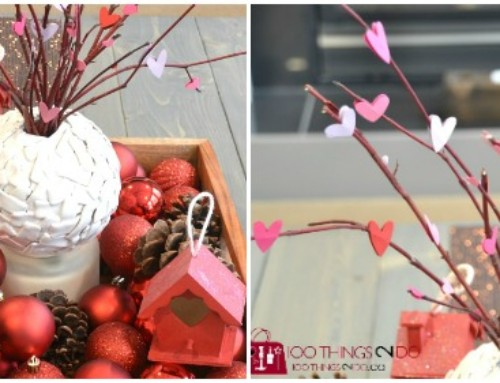 Valentine's Day Decor – Heart Branches