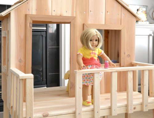 American Girl Doll – Dollhouse / Treehouse / Beach house