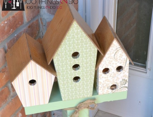 Birdhouse Display – National DIY Day