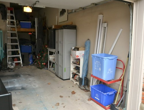 Garage Organization – Easy Garage Shelving