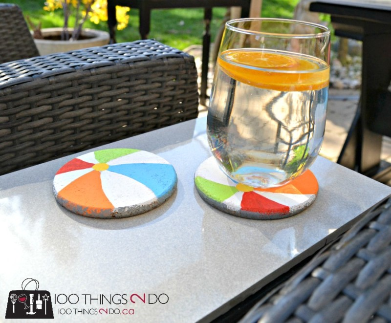 Cork Coasters, DIY cork coasters, crafting with kids, kids crafts, coasters