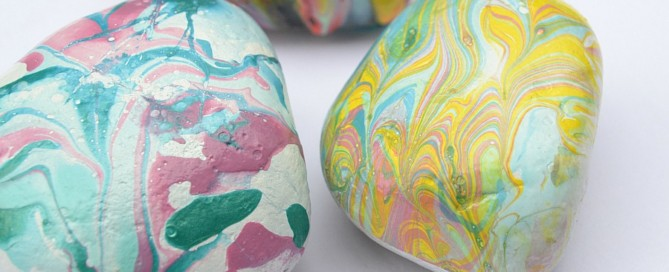 Rock paperweights, paperweights, marbled rocks, painted rocks, crafts for kids, rock painting, kids crafts