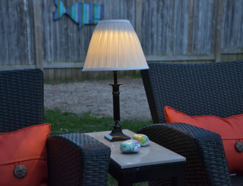 Outdoor Lighting – DIY Solar Lamp