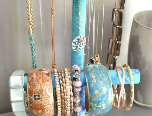 DIY Jewelry Holder – PVC Pipe Project