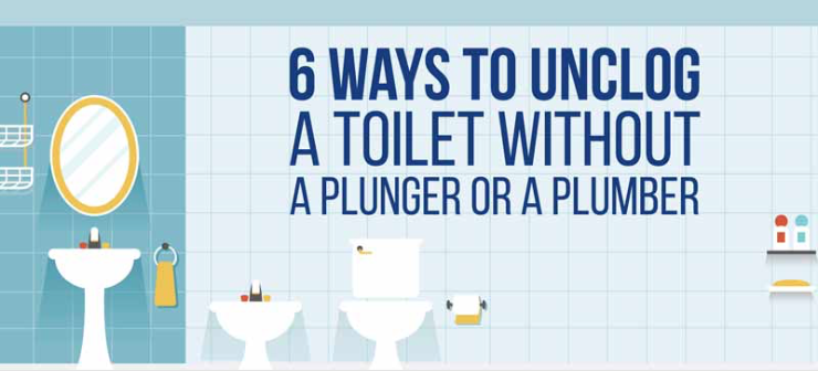 how to unclog a toilet without a plunger 100 things 2 do. Black Bedroom Furniture Sets. Home Design Ideas