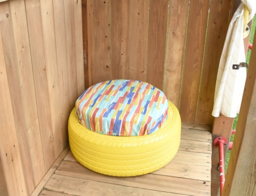 Tire Project – treehouse seating