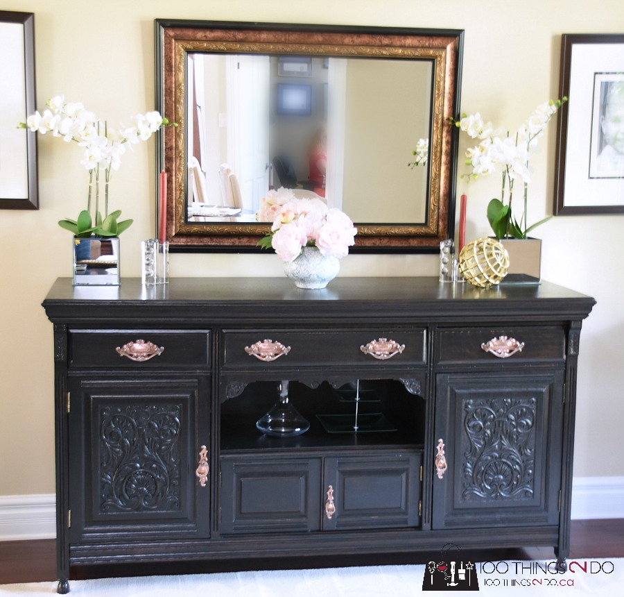 Sideboard Dining Room: Dining Room Buffet / Sideboard Makeover With Smart Strip