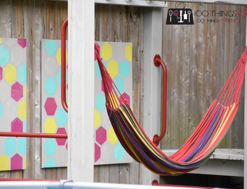 Finishing up the Playground – Outdoor Art
