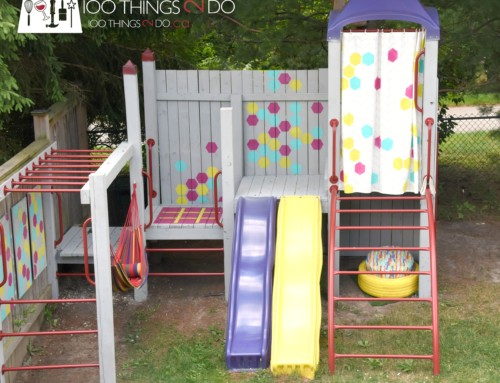 Backyard Playground Makeover