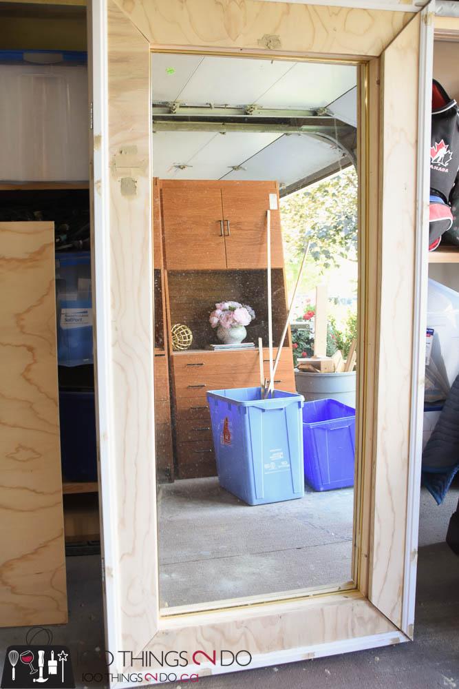 diy floor mirror 100 things 2 do. Black Bedroom Furniture Sets. Home Design Ideas
