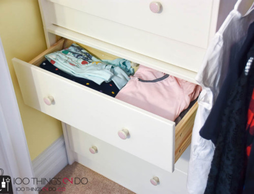 Small Closet Organization (on a budget)