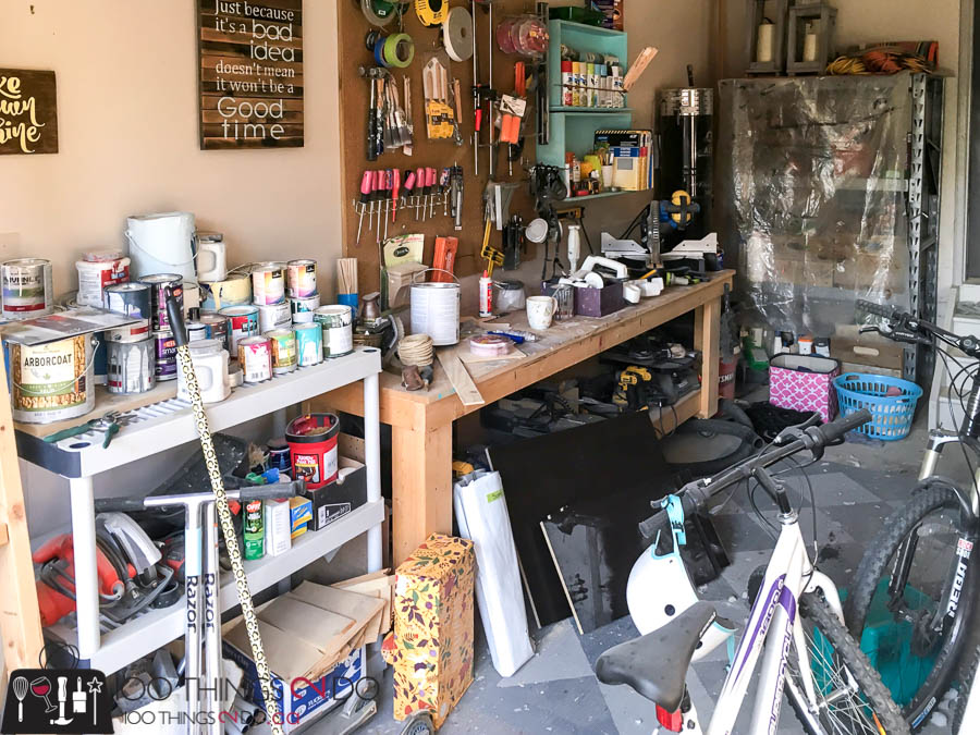 Garage workshop, workshop, she-shop, she shop, garage