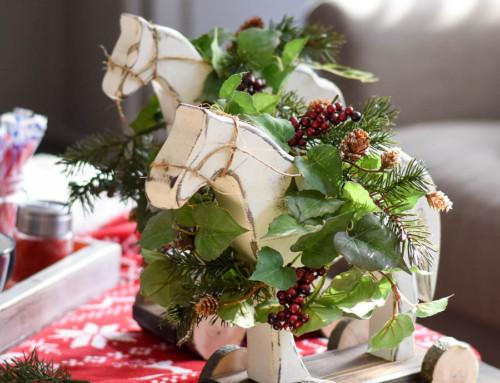 DIY Christmas Decor – Wooden Horse