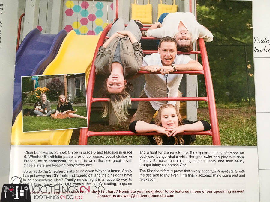 Neighbours of Sunningdale, Neighbours of Sunningdale magazine, September 2017 Neighbours of Sunningdale, Shepherd Family