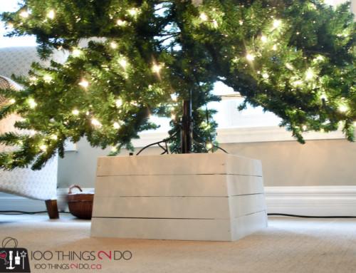 DIY Christmas Tree Stand