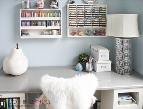 One Room Challenge – Week 6 – Desk makeover (again)