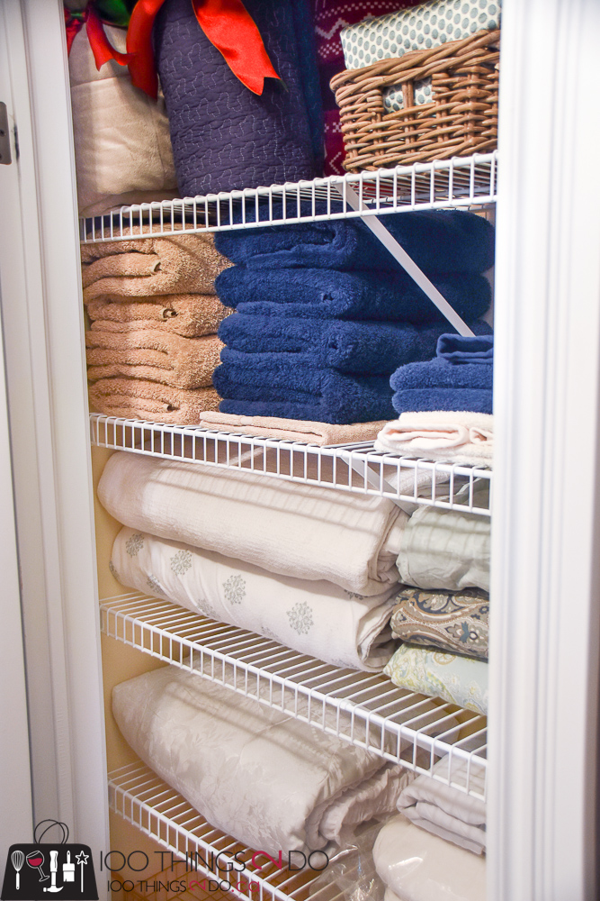Organizing The Linen Closet, Linen Closet Organization, Linen Closet,  Storing Linens