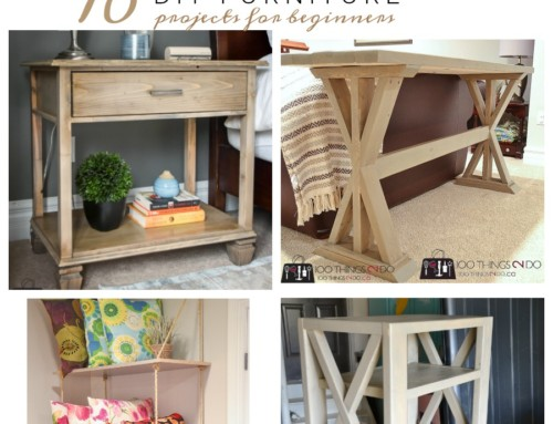 10 DIY Furniture Projects for Beginners