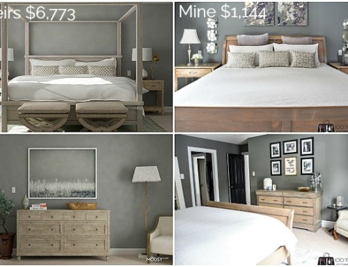 Master Bedroom Makeover – Theirs $6,773 vs. mine $1,144