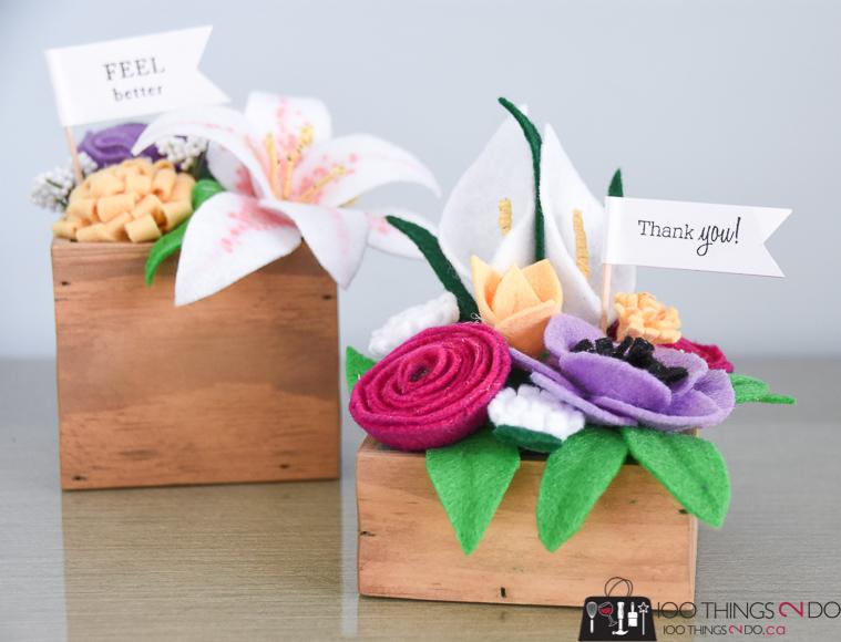 felt flower bouquet Archives   100 Things 2 Do