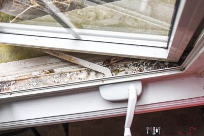 How to clean window tracks, the easiest way to clean window tracks, cleaning windows, window cleaning, HomeRight steam machine, chemical-free cleaning