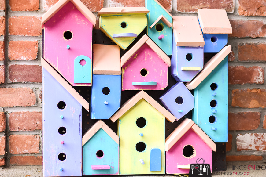 Bird house, bird houses, bird house collage, bird house art, Wood Art Challenge